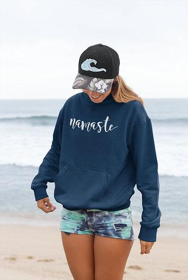 Unisex Vegan Yoga Hoodie - Namaste