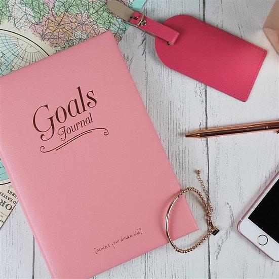 Handmade Genuine Leather Goal Journal