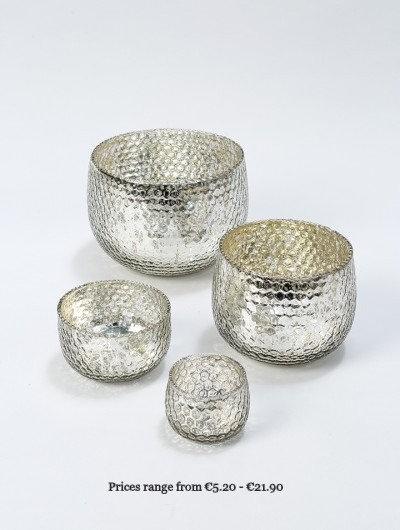 Honeycomb Design Glass Bowls
