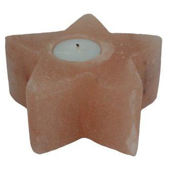 Himalayan Salt Candle Holder - Star