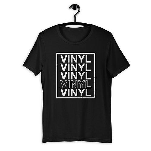 Vinyl Retro Tee by Hablando M