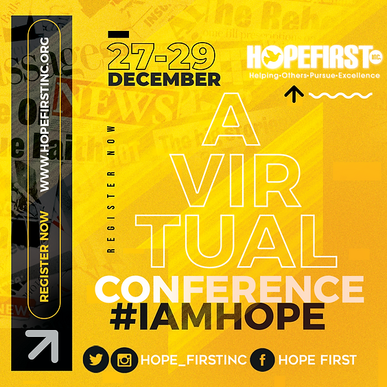 HOPE First Inc. 2020 Virtual Conference