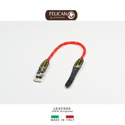 Felican Cuir corde Sewn