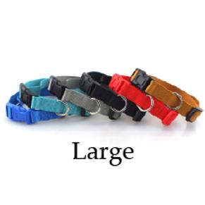 Felican Collier réglable pour chiens Uni 48-70 x2.5cm