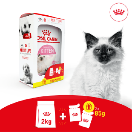 Royal Canin Pack Kitten Bi-Nutrition 2kg