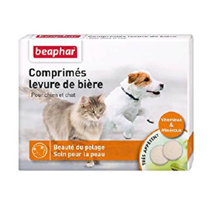 Beaphar Comprimés levure de bière pour chien et chat