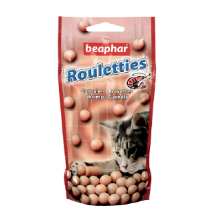 Beaphar Rouletties SHRIMP friandises pour chats