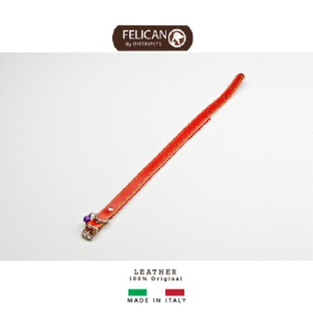 Felican Cuir Cloth+bell rouge