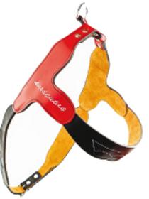 Felican Cuir Harnais Suede Bicolored