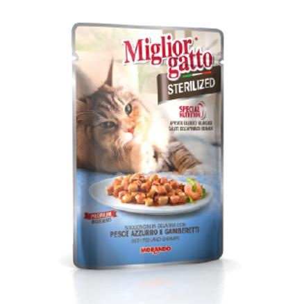 Miglior Gatto Sterilised poisson