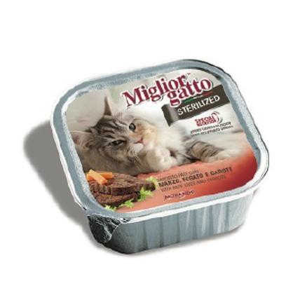 Miglior Gatto sterilized Pâté saumon et riz