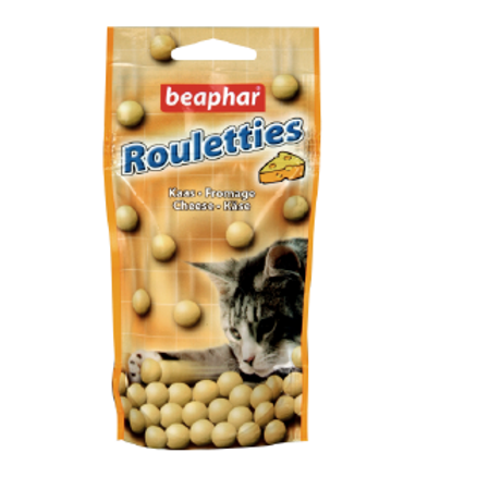 Beaphar Rouletties Fromage friandises pour chats