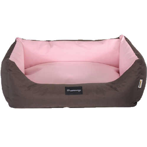 Fabotex Petit Sofa' BOSTON Pink/Brown
