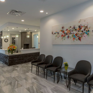 K.L.O. Dental Waiting Room