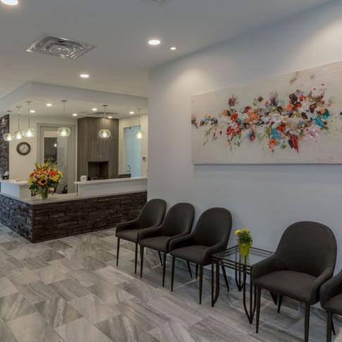 K.L.O. Dental Waiting Room