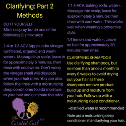 Clarifying Hair