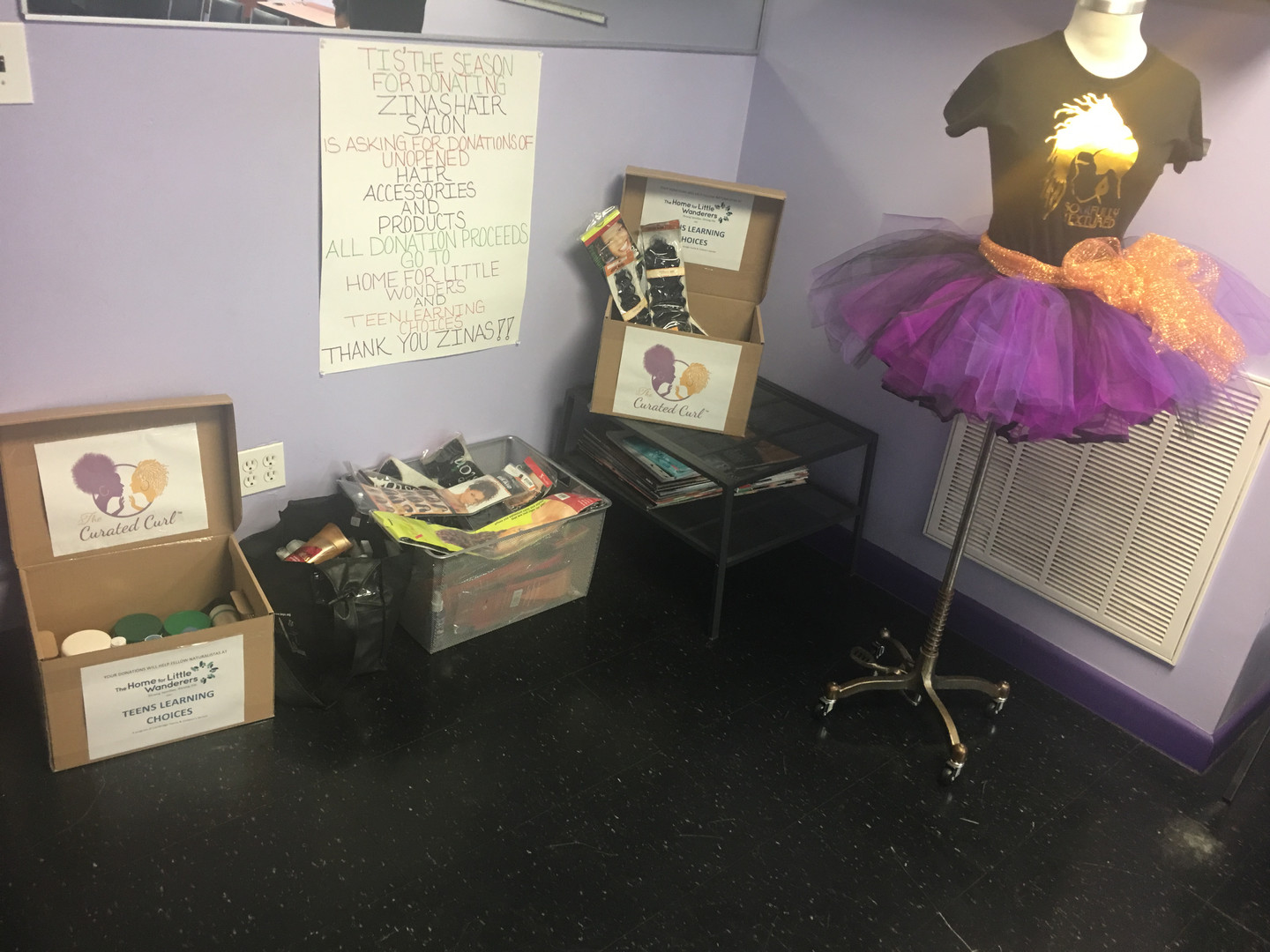 Donation Drive & Product Swap