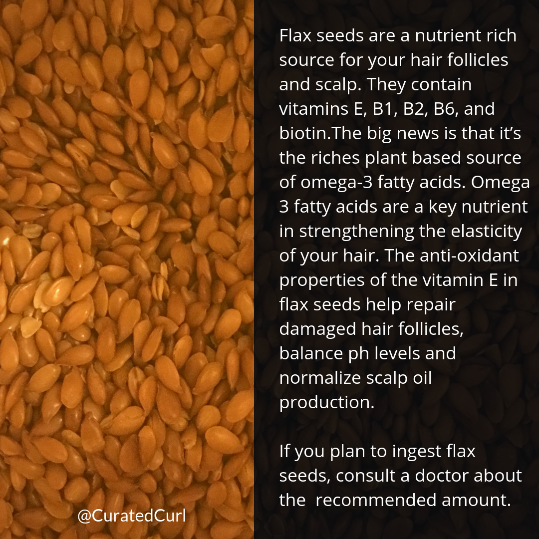 Flax Seeds and Healthy Hair
