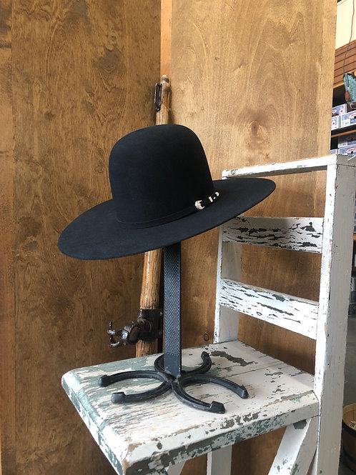 Resistol 6X Fur Felt Open Crown hat in Black