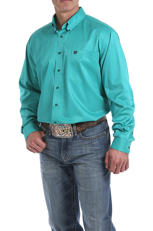 Cinch MEN'S TEAL PINSTRIPE