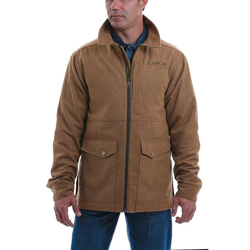 CINCH MEN'S WOOL 3/4 LENGTH JACKET