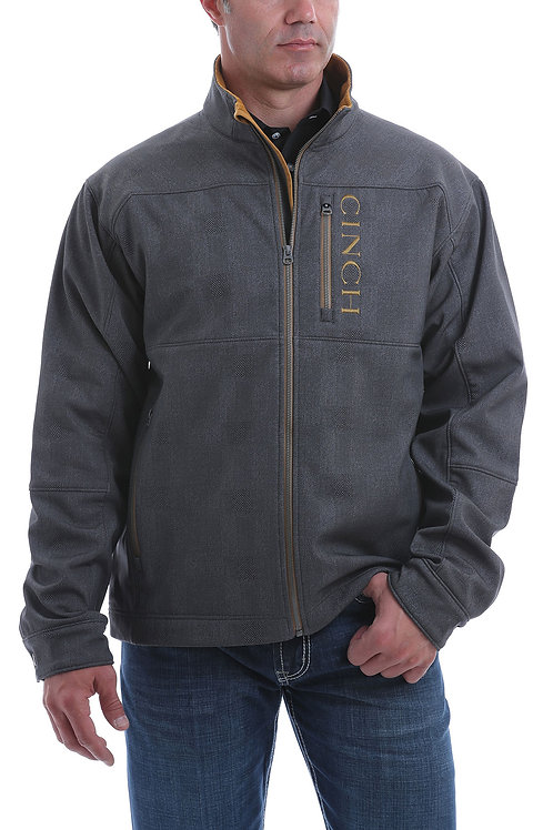 CINCH MEN'S CHARCOAL GREY BONDED JACKET