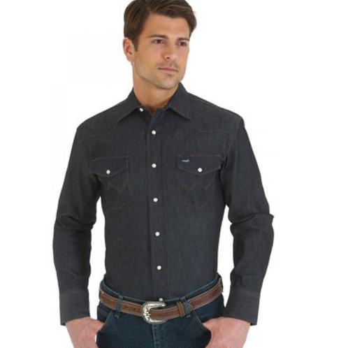 WRANGLER Denim Advanced Comfort Long Sleeve Workshirt MACW01D