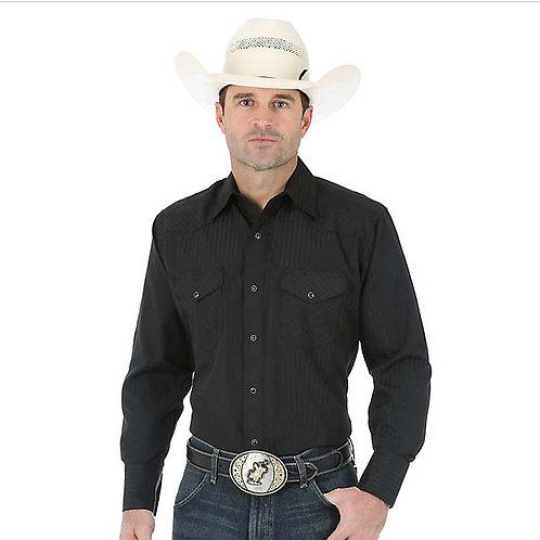 WRANGLER Western Long Sleeve Classic Fit Shirt 75214BK