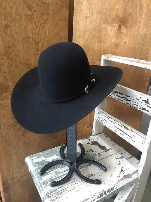 American Hat Co. 10x Black Felt Open Crown [HT1170]