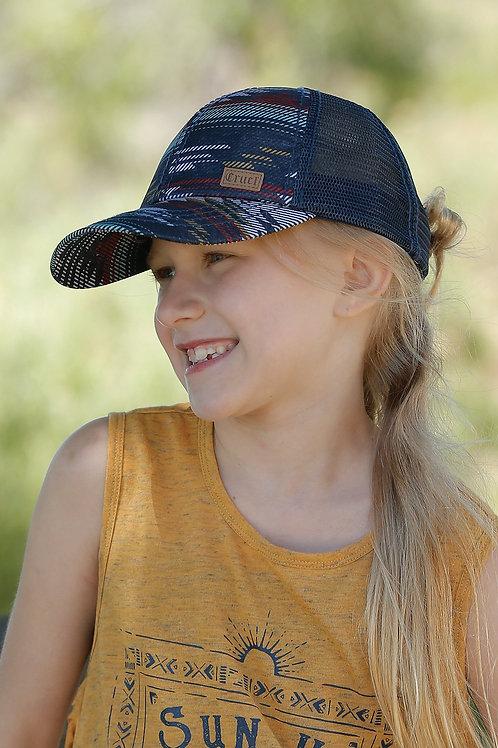 CRUEL GIRL AZTEC TRUCKER CAP