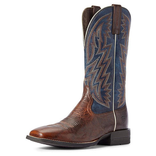 ARIAT DYNAMIC MENS WIDE SQUARE TOE COWBOY BOOT