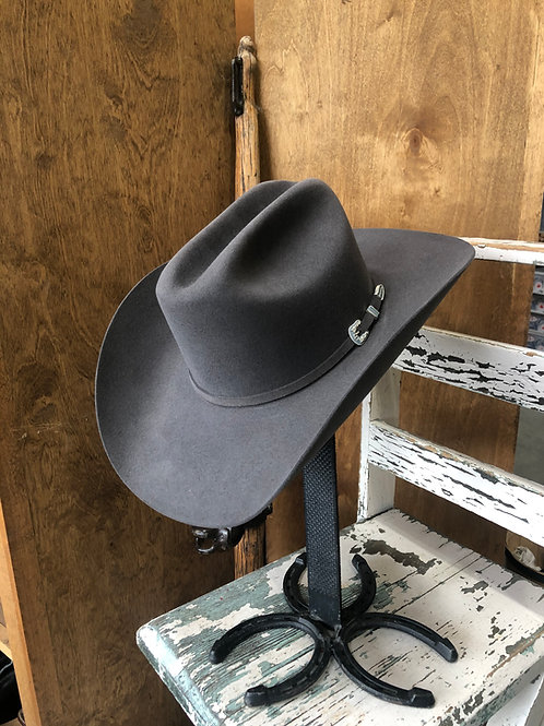 STETSON Skyline Granite Grey Fur Felt 6x Cowboy Hat
