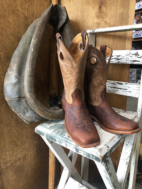 Boulet 7238 Mens Wide Square toe Cowboy Boot.