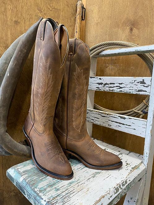 BOULET 8242 Ladies HillBilly Golden Medium Cowboy Toe Boots