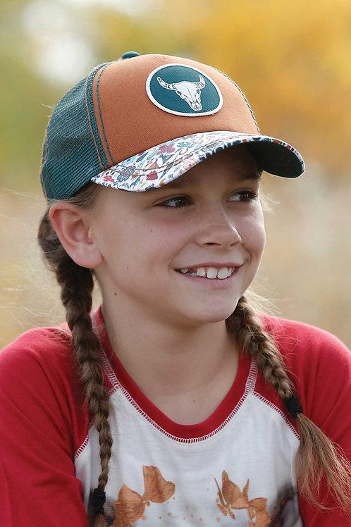 CRUEL GIRL STEER HEAD BALL CAP