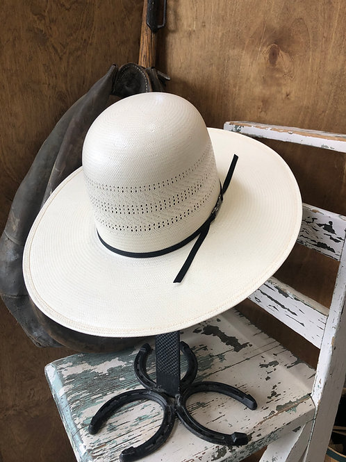 American Hat Straw 7400 Triple Fancy Vented - Ivory