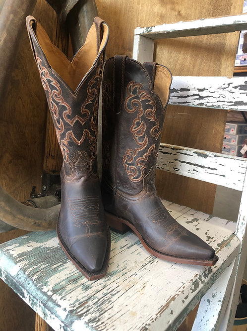 Boulet 6804 Ladies Rugged Country leather Snip toe