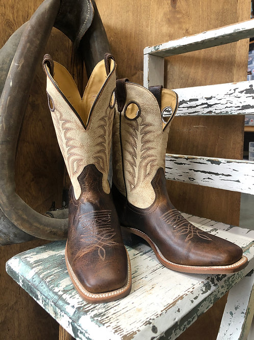 Boulet 7755 Men's Challenger Desert Bone Cowboy Boots - Square Toe