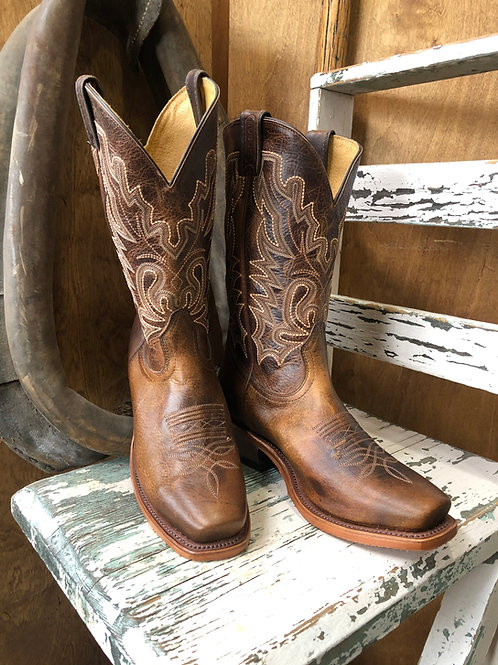 Boulet 6286 Mens Cutter Toe Cowboy Boot