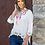 Thumbnail: L&B IVORY EMBROIDERED TOP