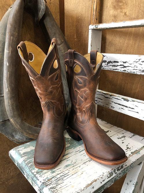 Boulet 6266 Wide Square toe Cowboy Boot