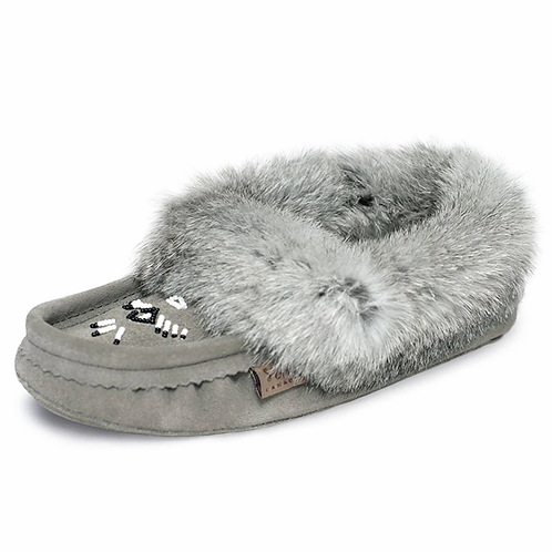 LAURENTIAN CHIEF WOMEN'S FUR TRIMMED SLIPPER
