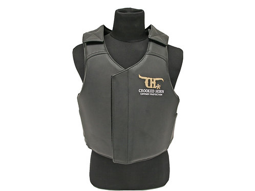 CROOKED HORN BULL RIDER VEST YOUTH