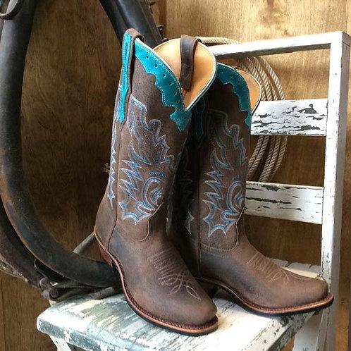 Boulet Ladies Selvaggio Turqueza Cutter Toe Boot 4361