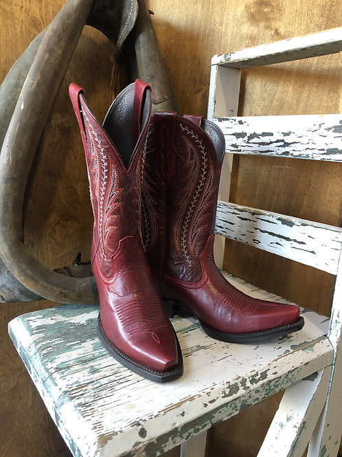 Ariat Womens Sangria Tailgate Western Boots 10029677