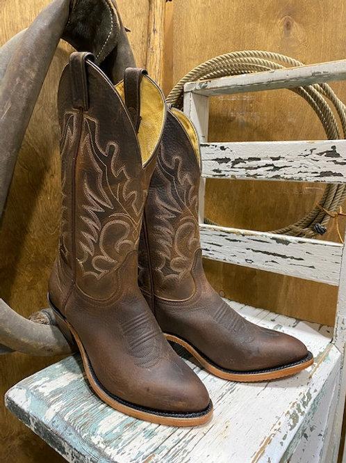 Boulet 2268 Mens Laid Back Copper Medium cowboy Toe Boot