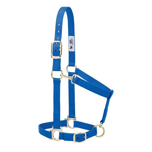 WEAVER ADJUSTABLE HALTER AVERAGE SIZE VARIOUS COLOURS