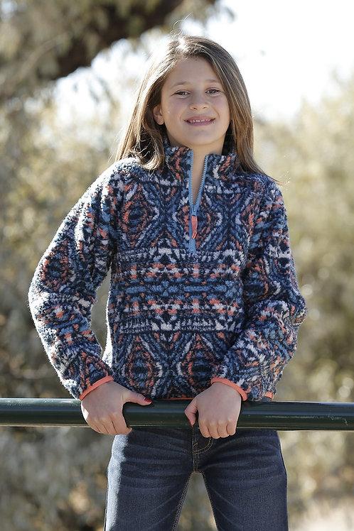 CRUEL GIRL AZTEC FLEECE PULLOVER