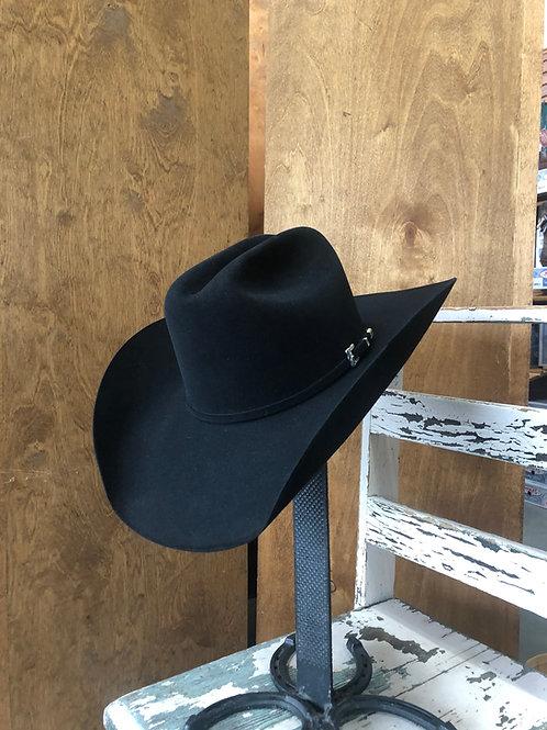 Resistol Midnight Black 6x Fur Felt Cowboy Hat [HT3527]