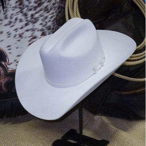 Resistol Pageant White 3x FELT Cowboy Hat [HT1015]